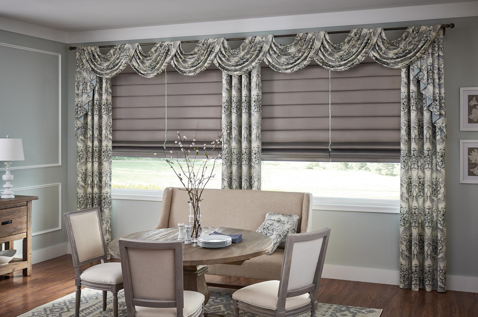 Roman Shades In Denver Co Window Treatments Highlands